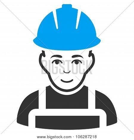 Glad Worker Icon