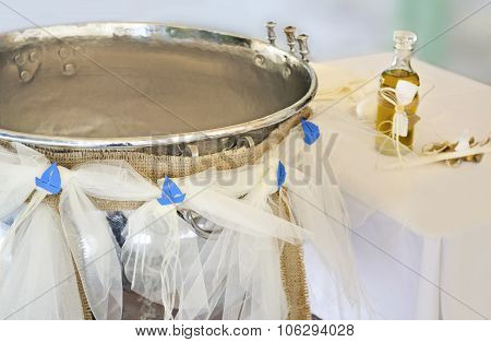 Orthodox Christening kolimbithra
