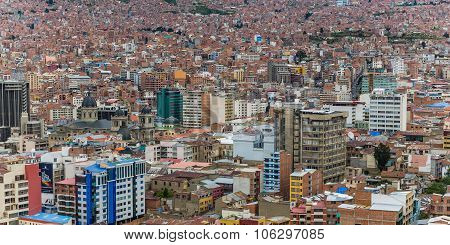 Infinite Rows Of Houses In La Paz