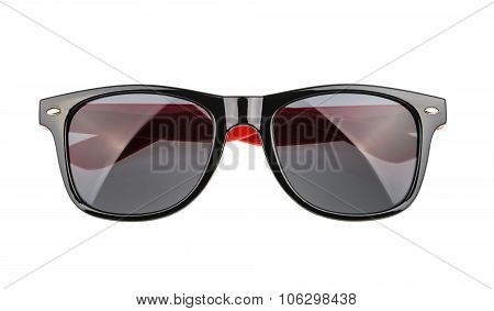 Sunglasses Isolated Against A White Background. Without Shadow. Cutout
