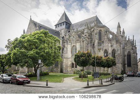 Eglise (church) Saint Malo, Dinan, Brittany, France