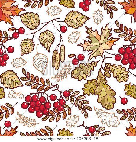 Autumn leaves. Autumn background.
