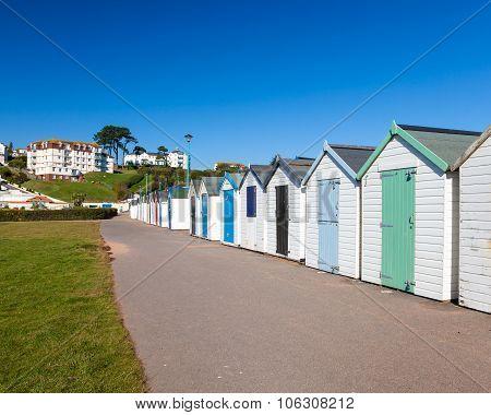 Goodrington Sands Beach Huts