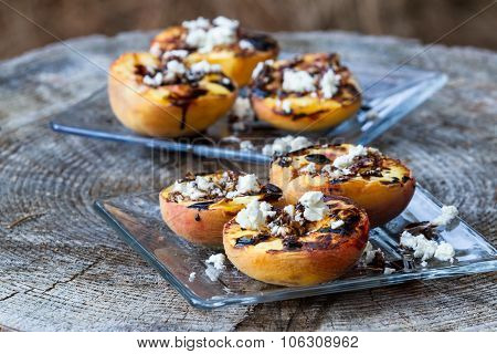 Grilled, Peaches