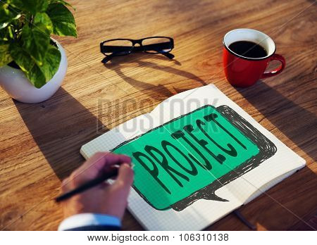 Project Plan Strategy Venture Enterprise Concept