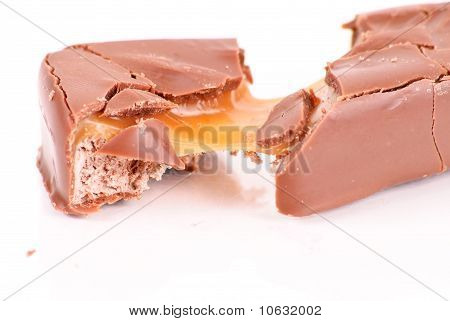 Caramel And Nougat Chocolate Bar