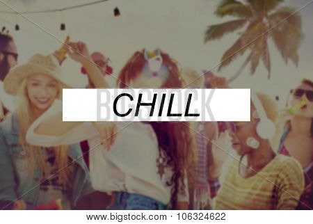 Chill Relaxation Calmness Freedom Resting Concept