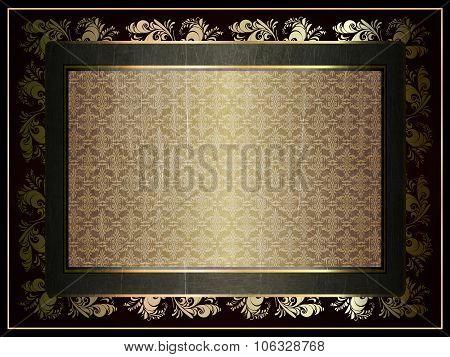 illustration of vintage frame
