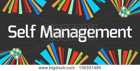 Self Management Dark Colorful Elements