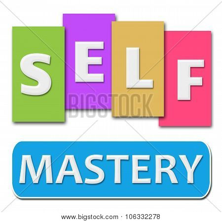 Self Mastery Colorful Stripes