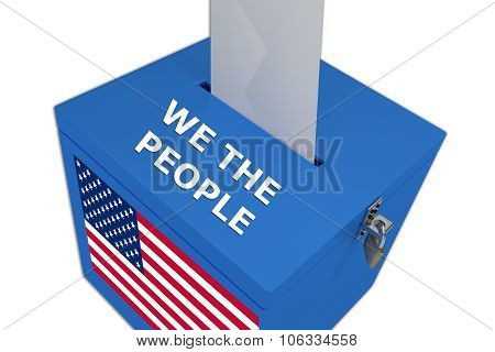 We The People Concept