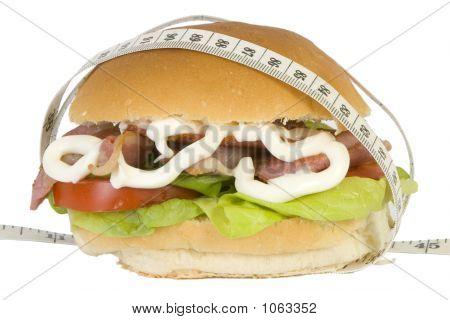 Blt Sandwich And Tapemeasure