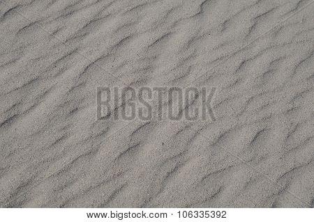 Gray wavy sand background