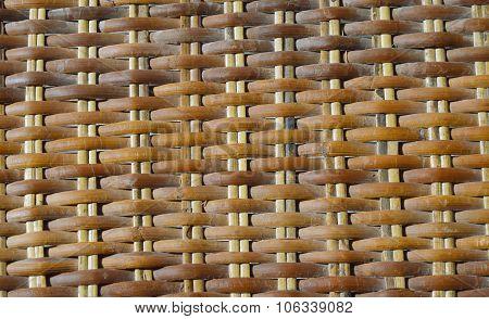 rattan chair texture
