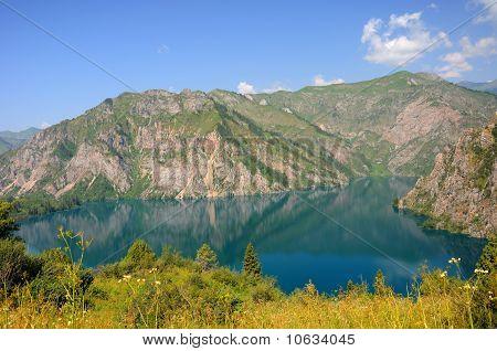 Colorful Sary-Chelek Lake