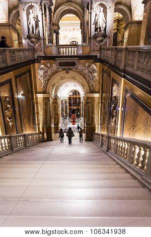 Exit From Naturhistorisches Museum, Vienna