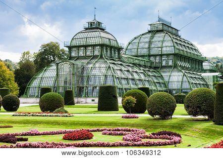 Palm House Schloss Schonbrunn Garden, Vienna