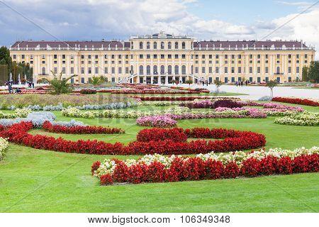 Garden Schloss Schonbrunn Palace, Vienna
