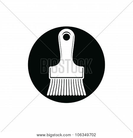 Renovation And Repair Instrument, Paint Brush. Graphic 3D Reparation Tool, Three-dimensional Vector