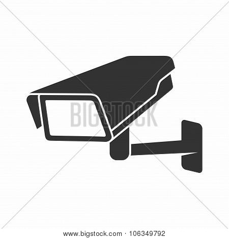Video Surveillance Security Camera. Vector