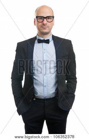 Handsome Guy With Bow-tie
