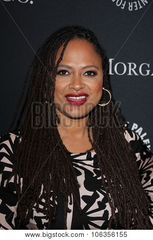 LOS ANGELES - OCT 26:  Ava DuVernay at the Paley Center's Hollywood Tribute to African-Americans in TV at the Beverly Wilshire Hotel on October 26, 2015 in Beverly Hills, CA