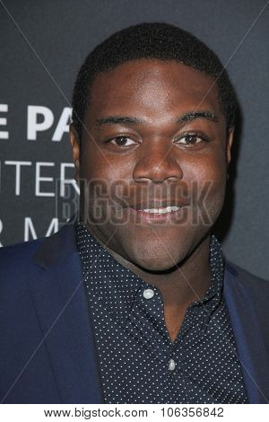 LOS ANGELES - OCT 26:  Sam Richardson at the Paley Center's Hollywood Tribute to African-Americans in TV at the Beverly Wilshire Hotel on October 26, 2015 in Beverly Hills, CA