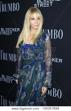 LOS ANGELES - OCT 27:  Rosanna Arquette at the