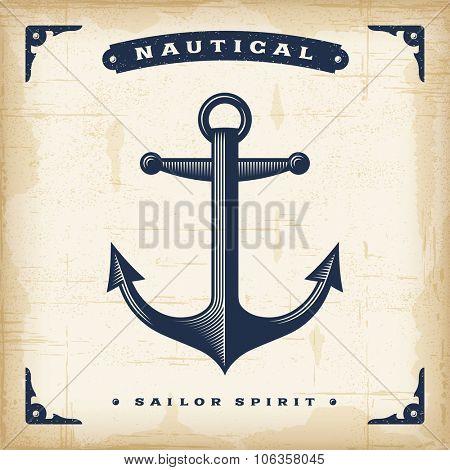 Vintage Anchor