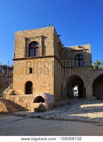 Ancient monastery in the city Ayia Napa