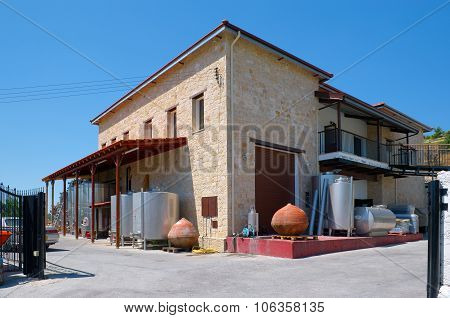 Ktima Gerolemo Winery & Vineyards in the Troodos Mountains