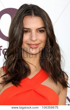LOS ANGELES - DEC 10:  Emily Ratajkowski at the 23rd Power 100 Women in Entertainment Breakfast at the MILK Studio on December 10, 2014 in Los Angeles, CA
