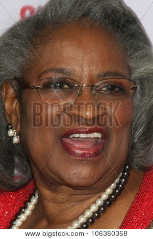 SANTA BARBARA - DEC 6:  Juanita Abernathy at the