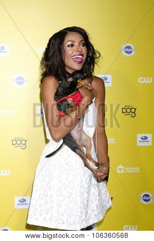 LOS ANGELES - JAN 10:  Kat Graham at the CW Network presents