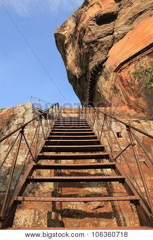 Climbing Through Boulder Gardens At Sigiriya, Sigiriya Rock, Stars, Sri Lanka