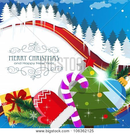 Christmas Celebration Background