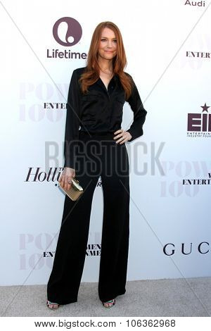LOS ANGELES - DEC 10:  Darby Stanchfield at the 23rd Power 100 Women in Entertainment Breakfast at the MILK Studio on December 10, 2014 in Los Angeles, CA