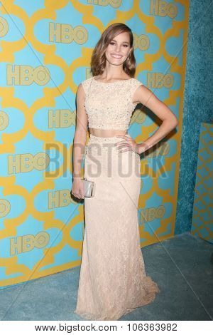 LOS ANGELES - JAN 11:  Bailey Noble at the HBO Post Golden Globes Party at a Beverly Hilton on January 11, 2015 in Beverly Hills, CA