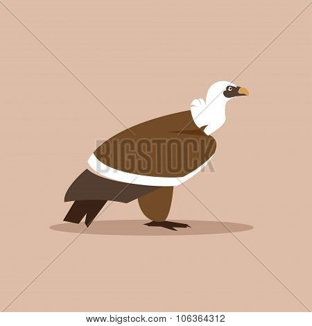 Griffin Vulture Vector Illustration