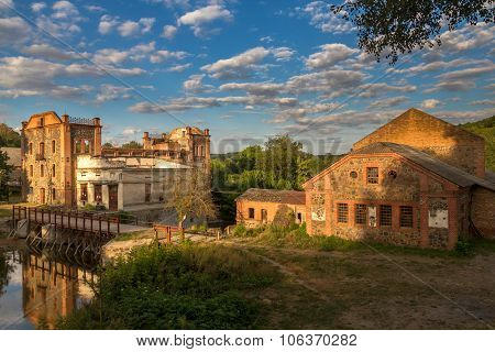 The Ruins Of The Old Mill, Vinnitsa, Ukraine