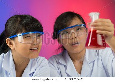 Excited Young Chemists