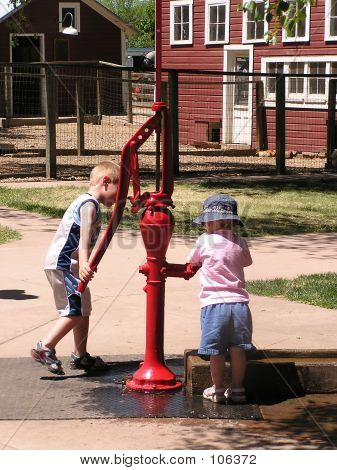 Playing At The Pump