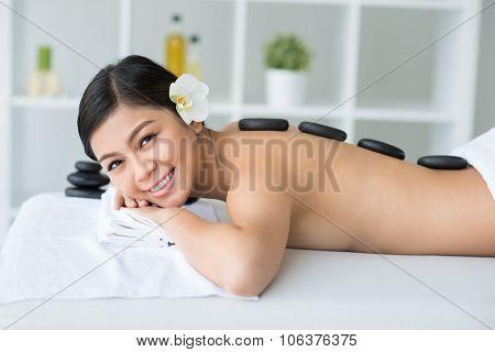 Hot Stone Spa Massage