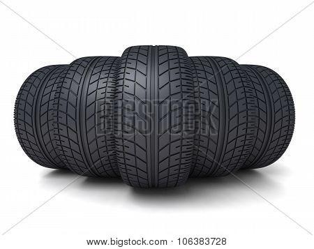 Five Tire Car