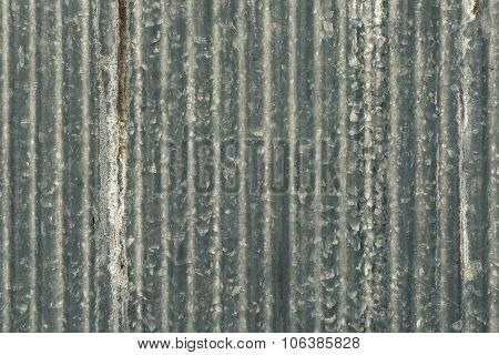 Rusty Zinc Wall for background