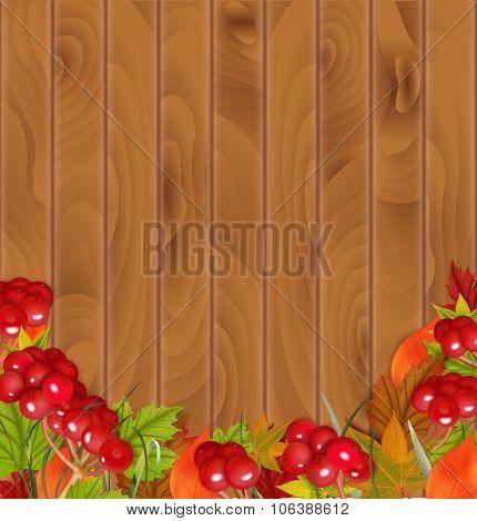 Autumn background. Vector illustration