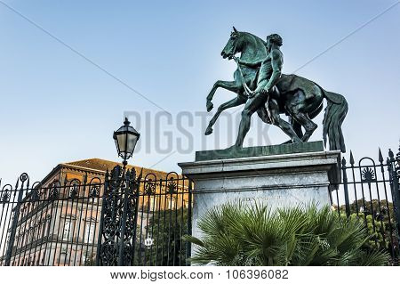 Royal Palace In The City Of Naples