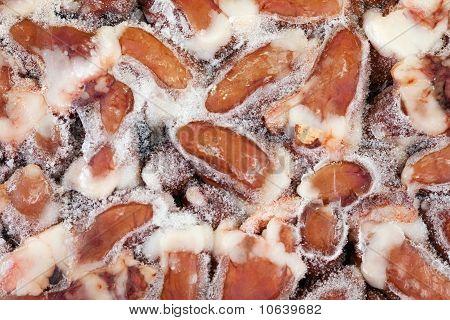 Frozen Raw Chicken Hearts