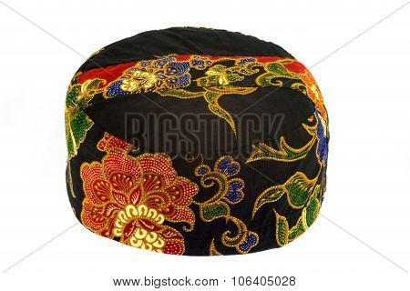 Traditional Boys Hat Of The Melanau People Of Borneo