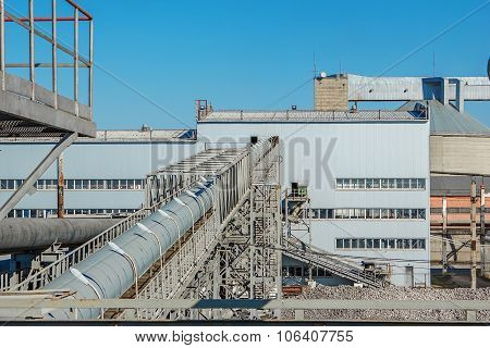 Industrial Building Plant For The Production Of Sugar From Sugar Beet